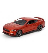 Metāla auto modelis  2015 Ford Mustang GT1:38 KT5386