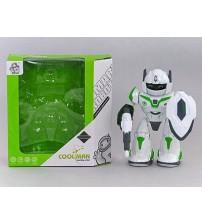 Robots rotājošs uz 360, danco ar skaņu un gaismu 22 cm 492189