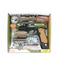 Pistole ar skaņu un gaismu 23 cm 530157