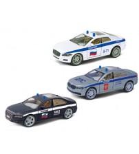 "Metāla auto modelis ""High-Speed Premium Sedan"" Spēka struktūras, ar lukturiem, 1:32, asorti, inerce. kastē AG34096"