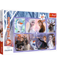 Puzlis TREFL Frozen A world full of magic MAXI 24 gb. 3+ T14345