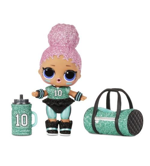L.O.L. Lelle All-Star B.B.s Sports Series 3 Soccer Team Sparkly Doll 572671
