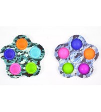 Antistresā rotaļlieta spinners Fidget Toys Simple Dimple Pop dažādas PI_SPINNERS-5