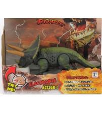 Dinozaurs Triceratops 11 x 22 cm ar skaņu. gaismu 464353