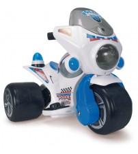 Akumulātoru bērnu tricikls (skaņa, gaisma)  6V  no 1 līdz 3 gadiem Samurai Police  I-129 Spānija