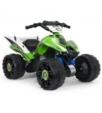 Akumulātoru bērnu kvadracikls Kawasaki ATV 12V no 2 gadiem I-66055 Spānija
