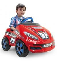 Akumulātoru bērnu mašīna Speedy 6V + Radiovadāmā no 1-3 gadiem I-7141 Spānija