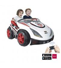 Akumulātoru divvietīgu bērnu mašīna REV 12V + Radiovadāmā no 3-6 gadiem I-7521 Spānija