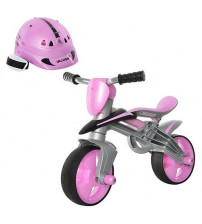 Bērnu balansēšanas velosipēds ar kasku no 2 gadiem i-502 Injusa Spānija