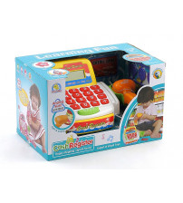 Bērnu kases aparats ar gaismu un LCD ekrānu 407558