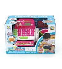 Bērnu kases aparats ar mikrofonu, gaismu un LCD ekrānu 407565