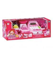 Bērnu kases aparats ar gaismu un LCD ekrānu 421684