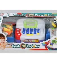 Bērnu kases aparats ar gaismu un LCD ekrānu un mikrofonu 423831