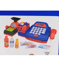 Bērnu kases aparats ar gaismu un LCD ekrānu 428959
