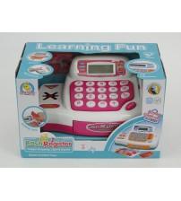 Bērnu kases aparats ar gaismu,  skaņu un LCD ekrānu 441026