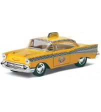 Metāla auto modelis 1957 Chevrolet Bel Air (Taxi) 1:40 KT5360