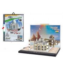 Puzzle 3D ar gaismu Taj Mahal 23.5x16 cm 492608