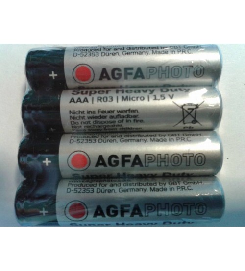AGFA PHOTO AAA S4 1.5 V baterijas