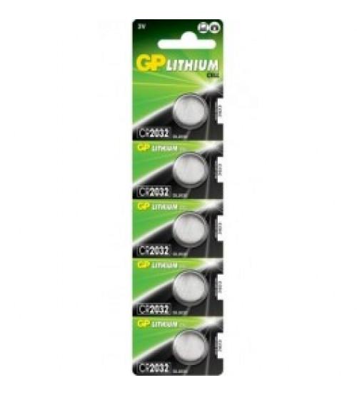 Baterijas GP CR2032 3V Kods CR2032-G5
