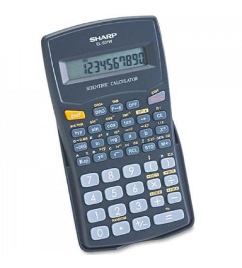 Elektroniskais kalkulators SHARP EL-501W-BK