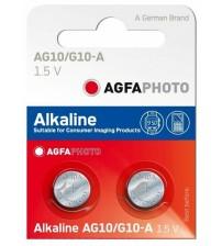 Baterijas AGFA AG10 B10 Kods APAG10B10