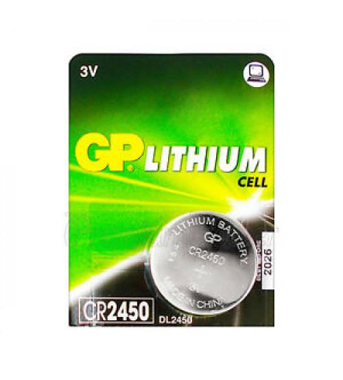 Baterijas GP CR2450 3V Kods CR2450-G5