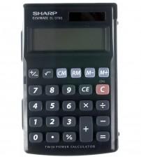 Elektroniskais kalkulators SHARP EL-375SB-BK