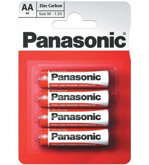 Baterijas PANASONIC AA Zinc Carbon 1.5 V R2006101304
