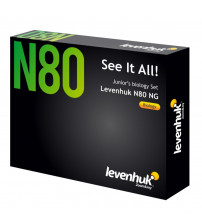 """Mikropreparātu komplekts paraugi 80 gab. Levenhuk N80 NG """"See it all"""" Slides Set 66685"""
