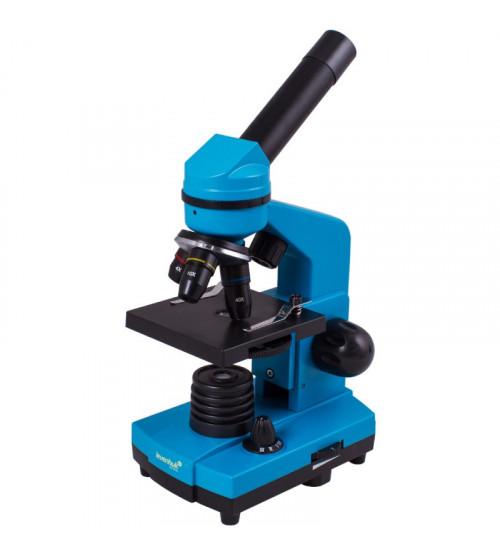 Mikroskops ar eksperimentālo komplektu K50 Levenhuk Rainbow 2L Debeszilā krāsā 40x-400x 69062