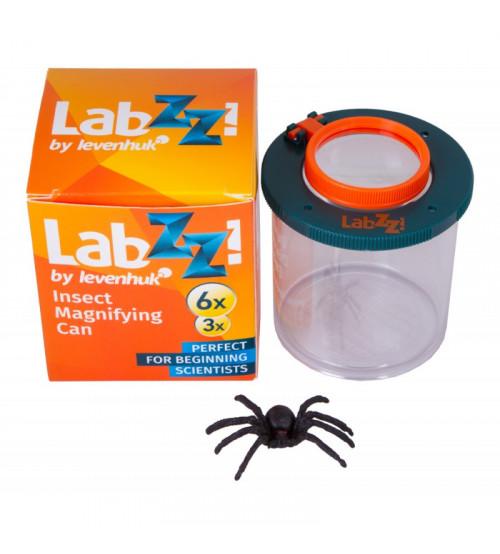 Insektu Trauks ar Palielināmo Lupu un Zirnekli Bērniem Levenhuk LabZZC1 2x-3x 69716