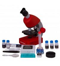 Mikroskops ar Eksperimentālo Komplektu Juniors 40x-640x, sarkans 70122