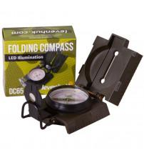 Kompass Levenhuk DC65 8x7x4 cm ar Iebūvēto LED 70825