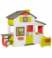 Bērnu mājas dārzs SMOBY Neo Friends ar žogu un galdu 217 x 171 x 172 cm 810203
