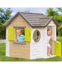 Bērnu dārza māja dārza Smoby My Neo House 118 x 132 x 135 cm 810406