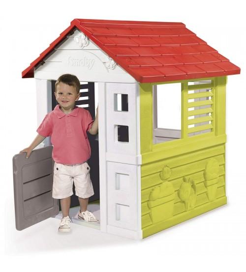 Bērnu dārza māja ar slēģiem Smoby Garden House 98 x 110 x 127 cm 810705