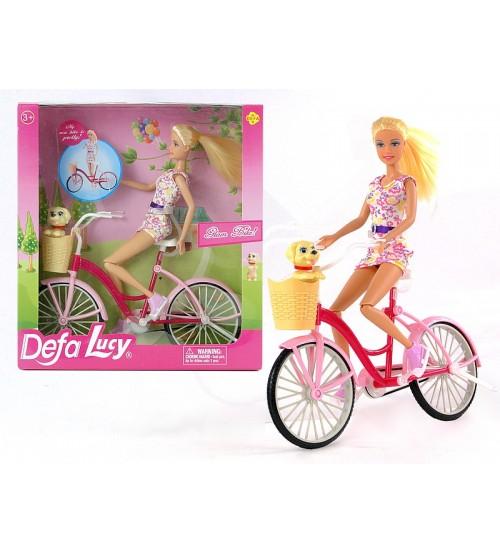 Lelle Lusija ar velosipēdu 439726