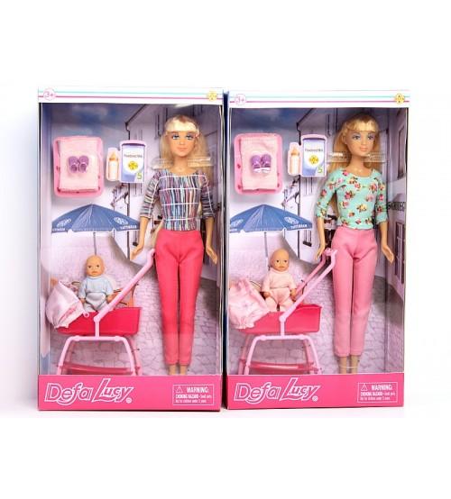 Lelle Lusija ar bērnu ratiņos dažādas 508125