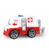 Ātras palidzības mašīna ar cilvēciņu Truxx 29 cm Čehija L04446