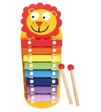 Bērnu koka ksilofons Lauva 35 cm L32170