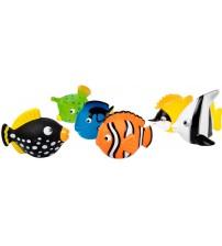 Rotaļleta vannai zivtiņa dažādas 7 cm L65521