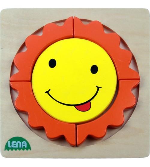 Koka puzzle Saule Lena L32130-1
