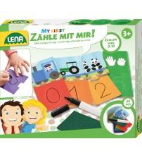 Spēle Mācies zīmēt ciparus Lena L42634 Čehija