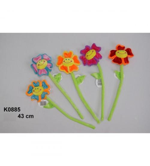 Plīša zieds 43 cm (K0885) dažādas 119292