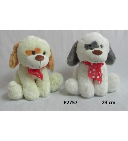 Plīša suns 23 cm (P2757) dažādas 134295