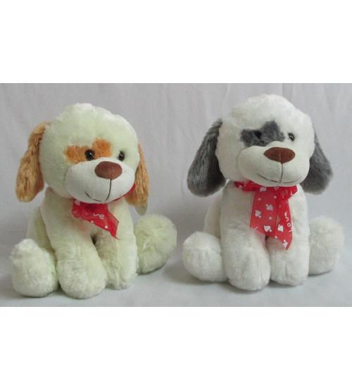 Plīša suns 30 cm (P2758) dažādas 134301