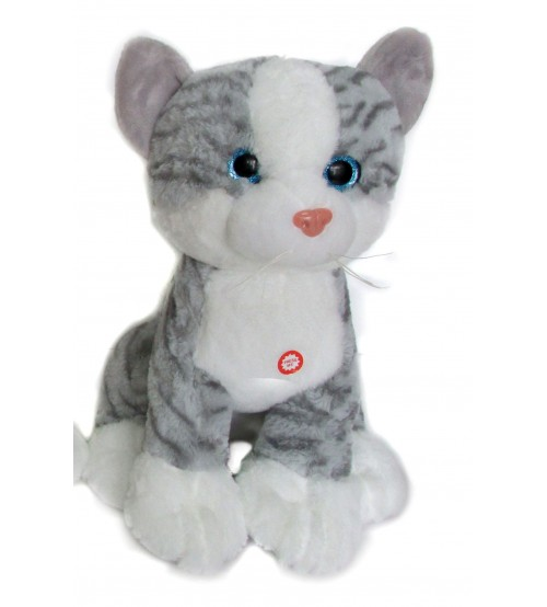 Plīša kaķis ar skaņu 28 cm (K1094) 146373-3