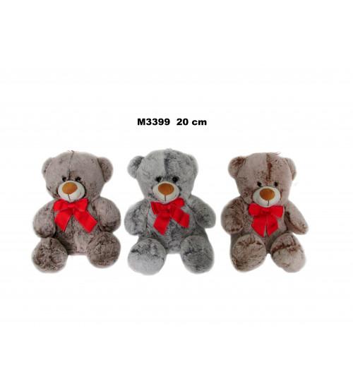 Plīša lācis 20 cm (M3399) dažādas 147059