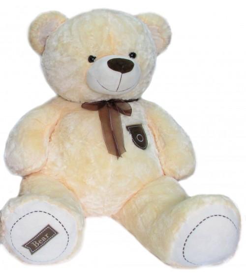 Plīša lielais lācīs Bear 115 cm ( M3481) baltais 151339-1
