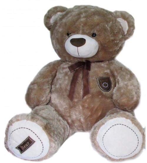 Plīša lielais lācīs Bear 115 cm (M3481) gaiši brūns 151339-2